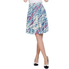 Colorful pattern A-Line Skirt