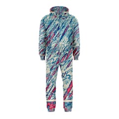 Colorful pattern Hooded Jumpsuit (Kids)