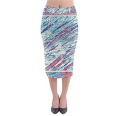 Colorful pattern Midi Pencil Skirt