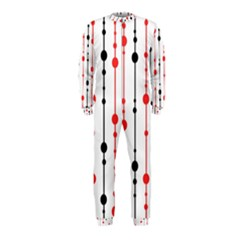 Red, black and white pattern OnePiece Jumpsuit (Kids)
