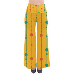 Yellow, green and red pattern Pants