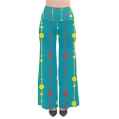 Green, Yellow And Red Pattern Pants