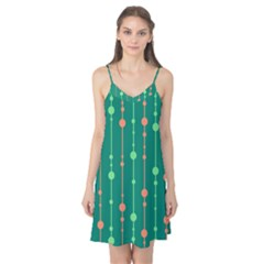 Green pattern Camis Nightgown