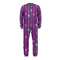 Purple and green pattern OnePiece Jumpsuit (Kids)