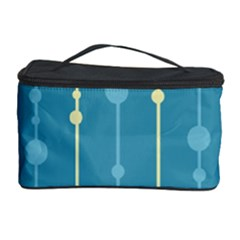 Blue pattern Cosmetic Storage Case