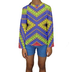 Listen Close Kid s Long Sleeve Swimwear