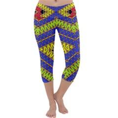 Listen Close Capri Yoga Leggings