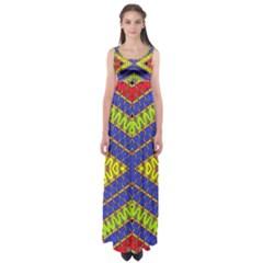 LISTEN CLOSE Empire Waist Maxi Dress