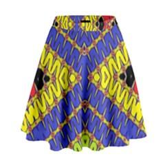 LISTEN CLOSE High Waist Skirt