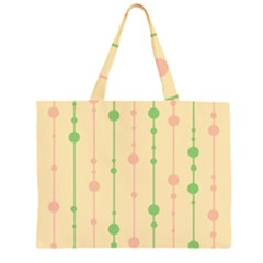 Pastel pattern Large Tote Bag