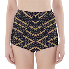 Art Digital (16)gfetju High-Waisted Bikini Bottoms
