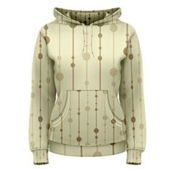 Brown pattern Women s Pullover Hoodie
