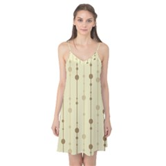 Brown pattern Camis Nightgown