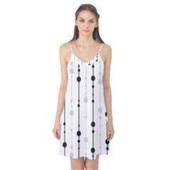 Black and white elegant pattern Camis Nightgown