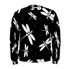 Dragonflies pattern Men s Sweatshirt