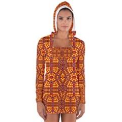 Venus Gemini Women s Long Sleeve Hooded T Shirt