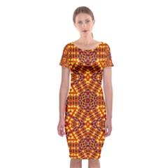 Venus Gemini Classic Short Sleeve Midi Dress