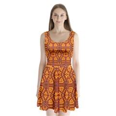 Venus Gemini Split Back Mini Dress