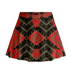 Fiction Mini Flare Skirt