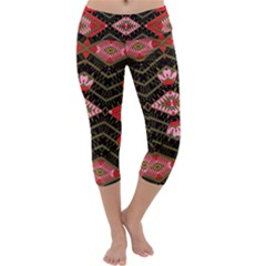 Pegasus Rom Capri Yoga Leggings