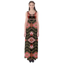 Pegasus Rom Empire Waist Maxi Dress