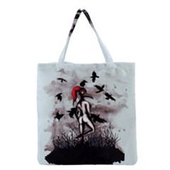 Dancing With Crows Grocery Tote Bag