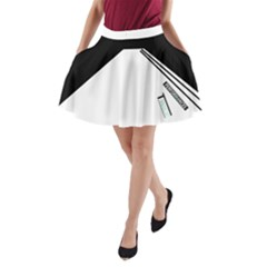 2E A-Line Pocket Skirt