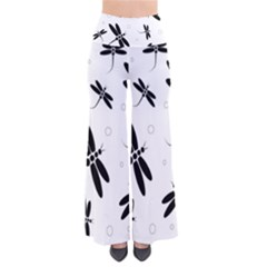 Black and white dragonflies Pants