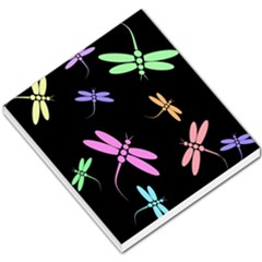Pastel dragonflies Small Memo Pads
