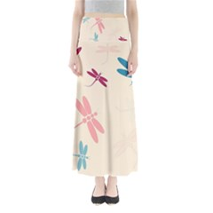Pastel dragonflies  Maxi Skirts