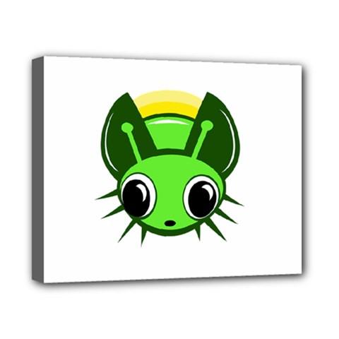 Transparent firefly Canvas 10  x 8