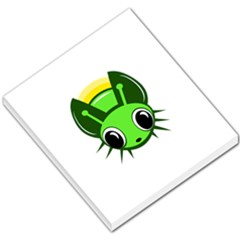 Transparent firefly Small Memo Pads