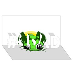 Transparent firefly #1 DAD 3D Greeting Card (8x4)