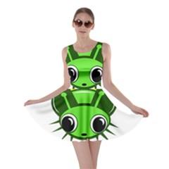 Transparent firefly Skater Dress