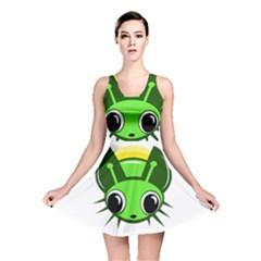 Transparent Firefly Reversible Skater Dress