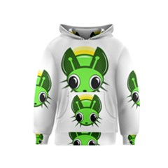 Transparent firefly Kids  Pullover Hoodie