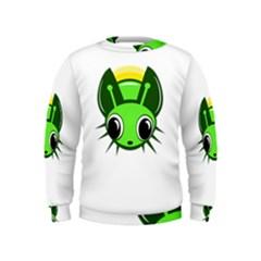 Transparent firefly Kids  Sweatshirt