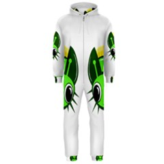 Transparent firefly Hooded Jumpsuit (Men)