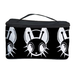White and black fireflies  Cosmetic Storage Case