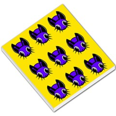 Blue and yellow fireflies Small Memo Pads