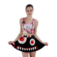 Crazy monster Mini Skirt