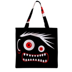 Crazy Monster Grocery Tote Bag