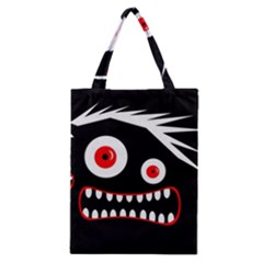 Crazy monster Classic Tote Bag