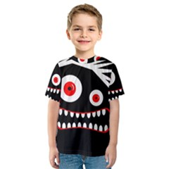 Crazy monster Kid s Sport Mesh Tee