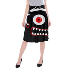 Crazy Monster Midi Beach Skirt