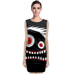 Crazy monster Classic Sleeveless Midi Dress
