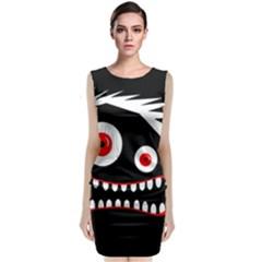 Crazy Monster Classic Sleeveless Midi Dress