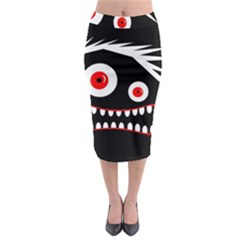Crazy monster Midi Pencil Skirt