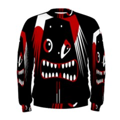 Zombie face Men s Sweatshirt