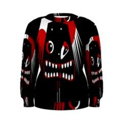 Zombie face Women s Sweatshirt